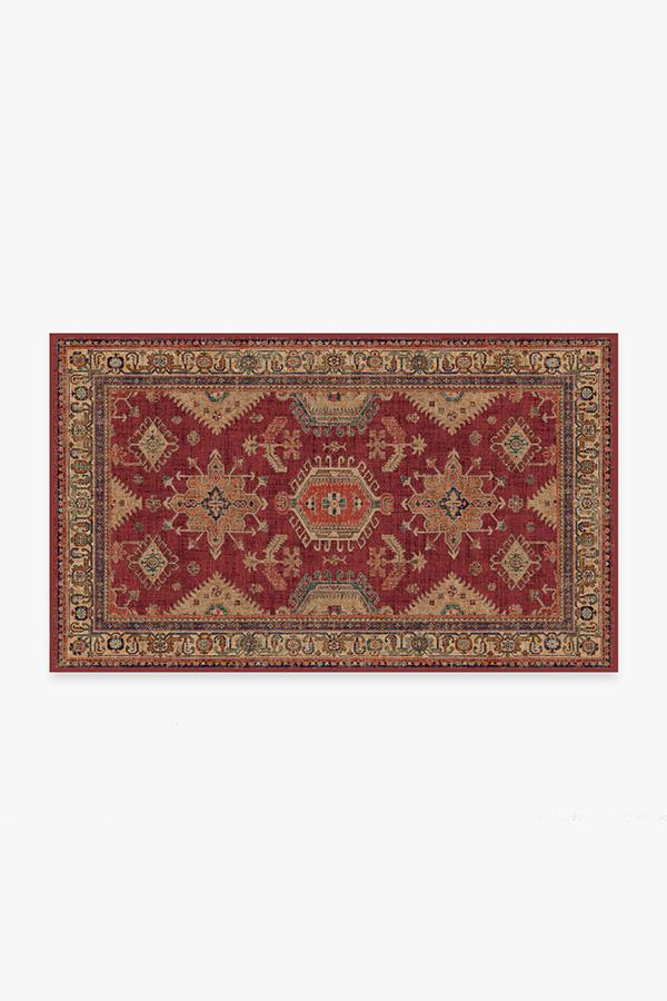 Washable Rug Cover & Pad | Cambria Ruby Rug | Stain-Resistant | Ruggable | 3'x5'