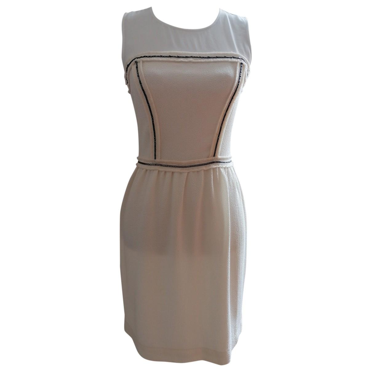 Sandro \N Ecru dress for Women 38 FR