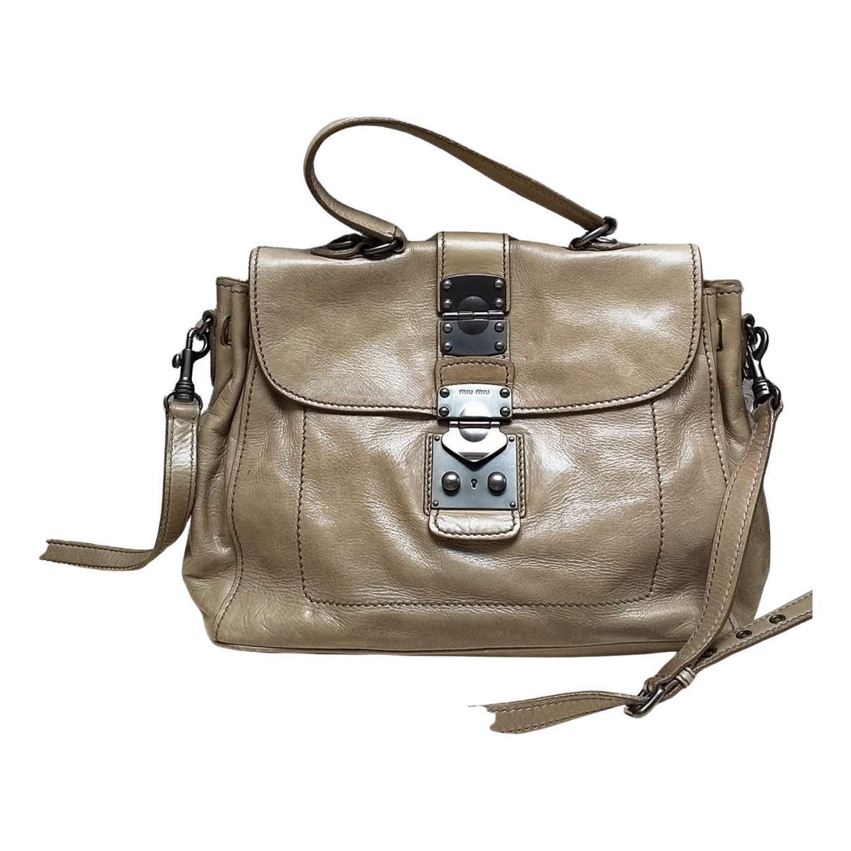 Miu Miu \N Leather handbag for Women \N