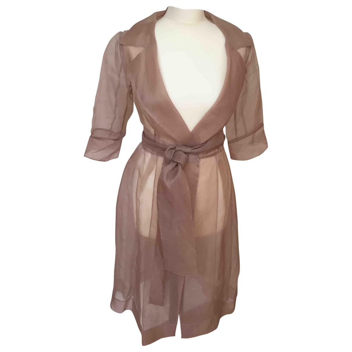 Coast \N Pink Silk coat for Women 10 UK