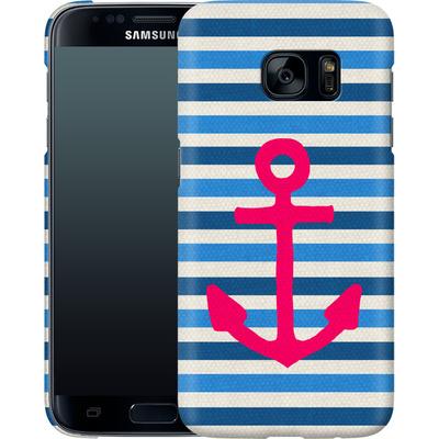 Samsung Galaxy S7 Smartphone Huelle - Stay von Bianca Green