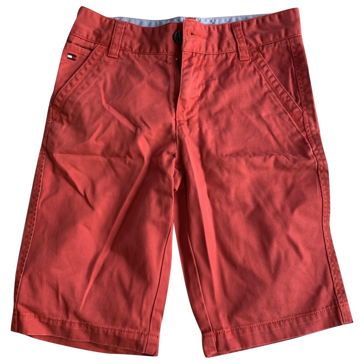 Tommy Hilfiger - Pantalon   pour enfant en coton - rouge