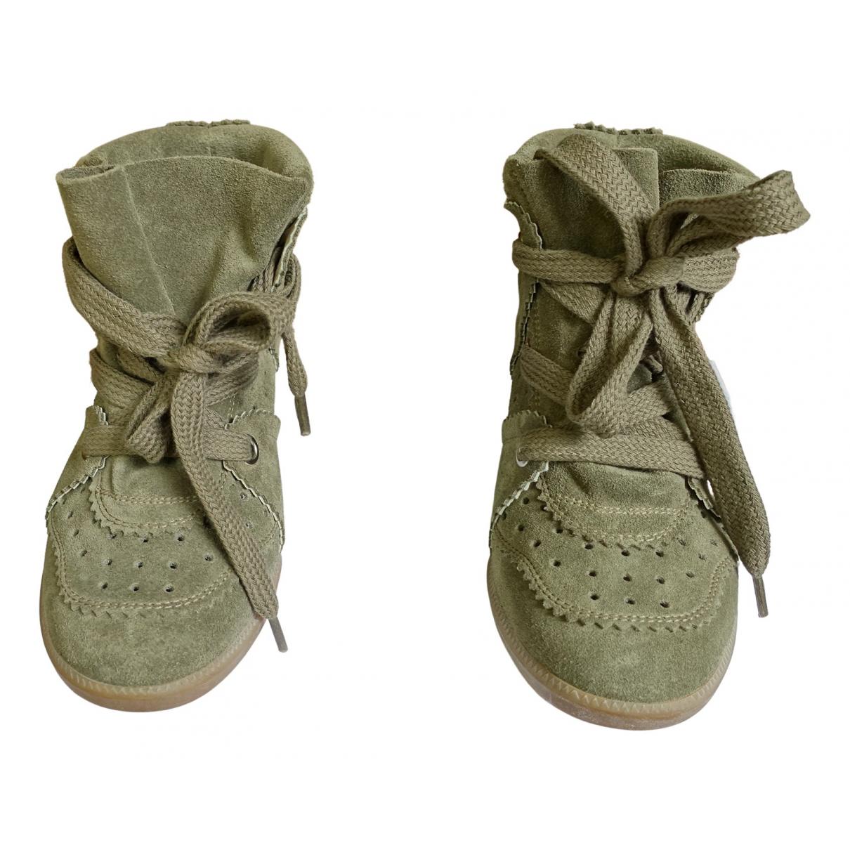 Isabel Marant Betty Sneakers in Veloursleder