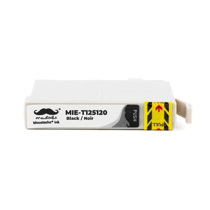 Epson 125 T125120 cartouche d'encre compatible noire - Moustache�