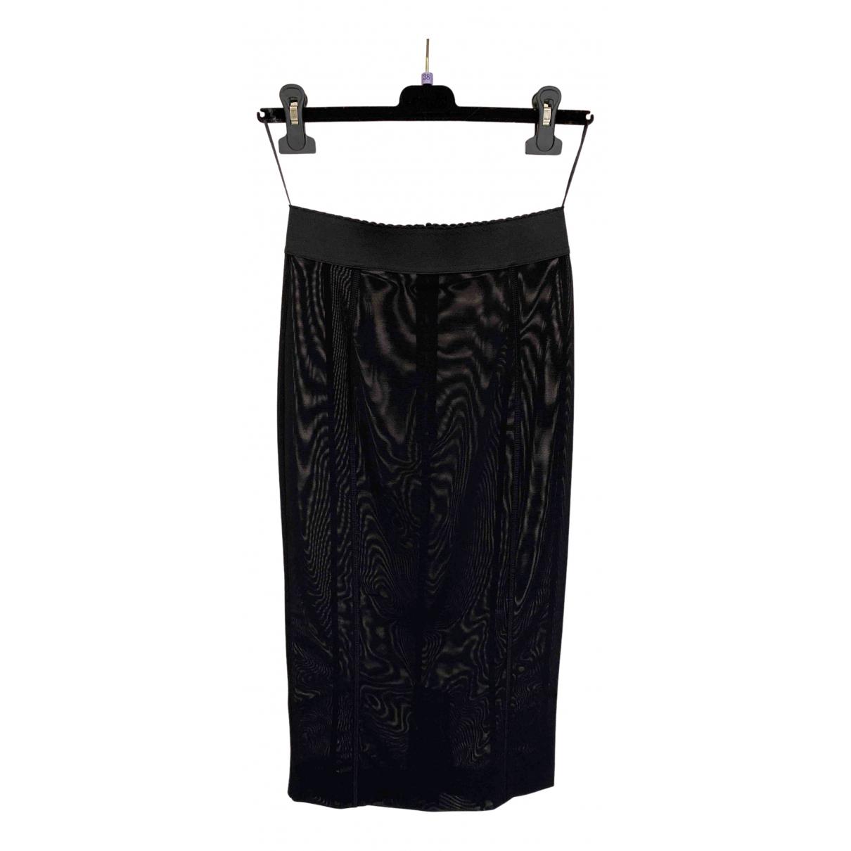 Dolce & Gabbana \N Rocke in  Schwarz Synthetik