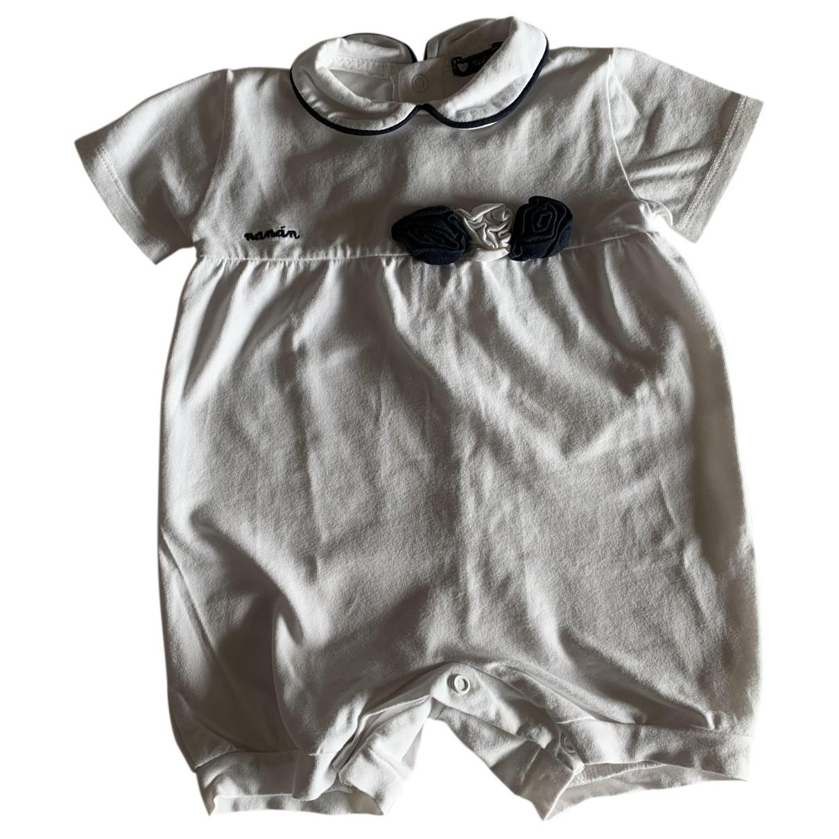 - Les ensembles   pour enfant en coton - blanc