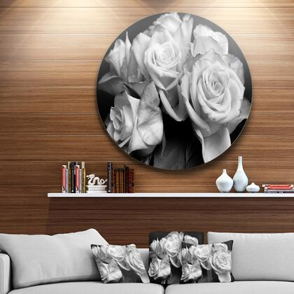 MT9986-C38 Bunch Of Roses Black And