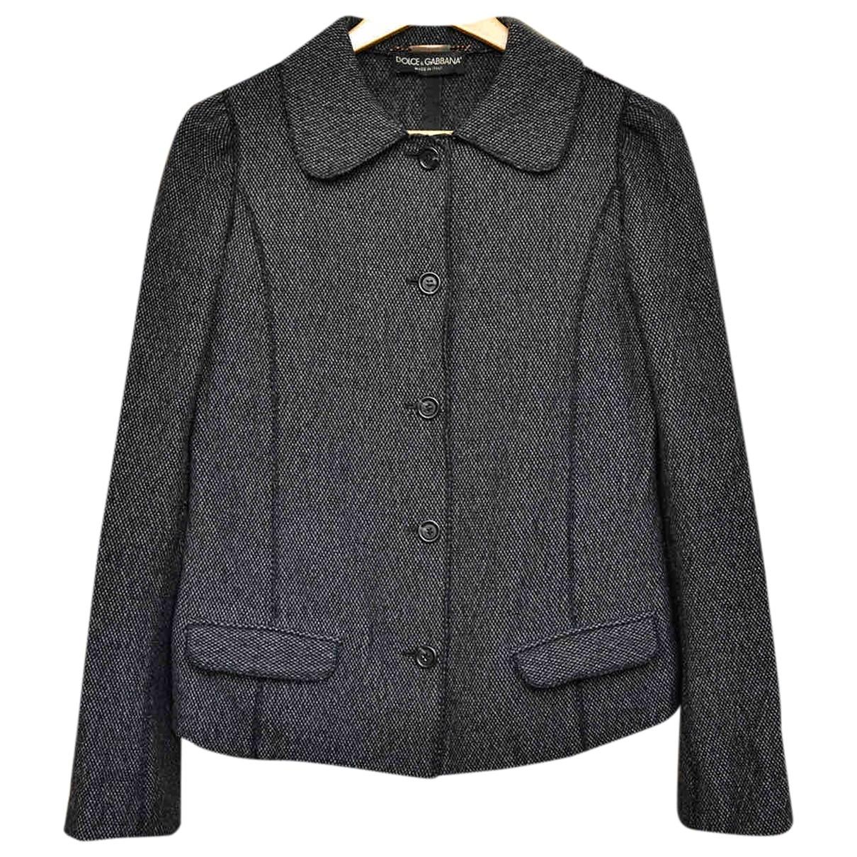 Dolce & Gabbana - Veste   pour femme en cachemire - marron