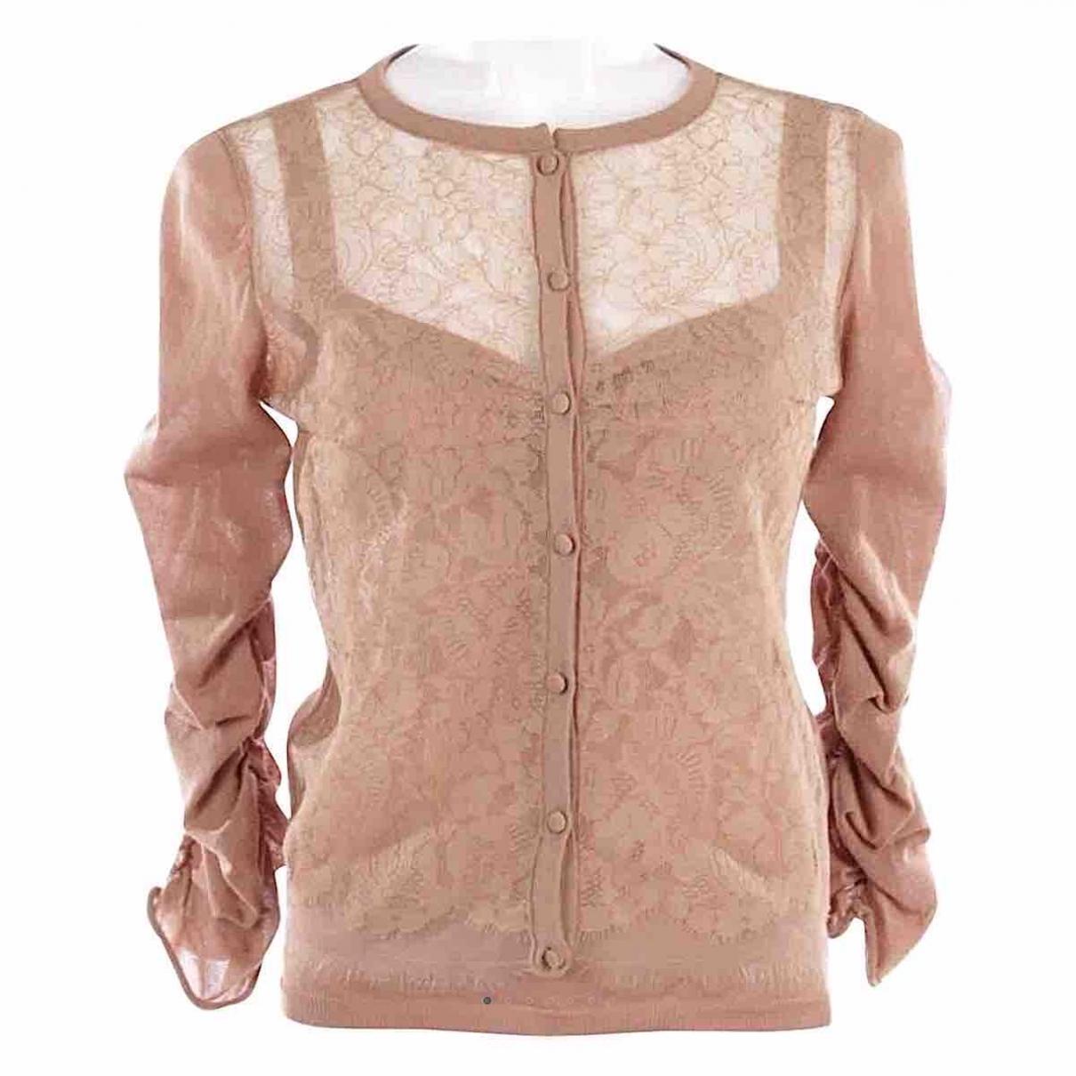 Valentino Garavani - Pull   pour femme en coton - beige