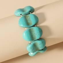 1 Stueck Armband mit Tuerkis Dekor