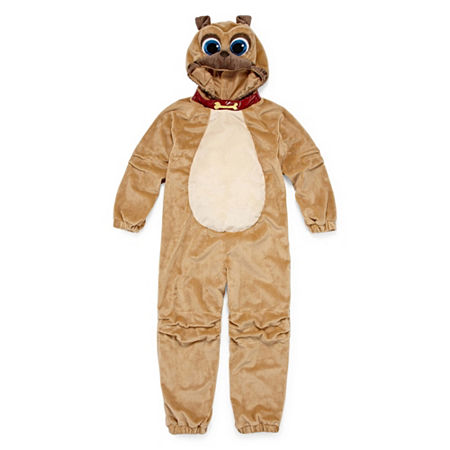 Disney Collection Rolly Boys Costume, 4 , Brown