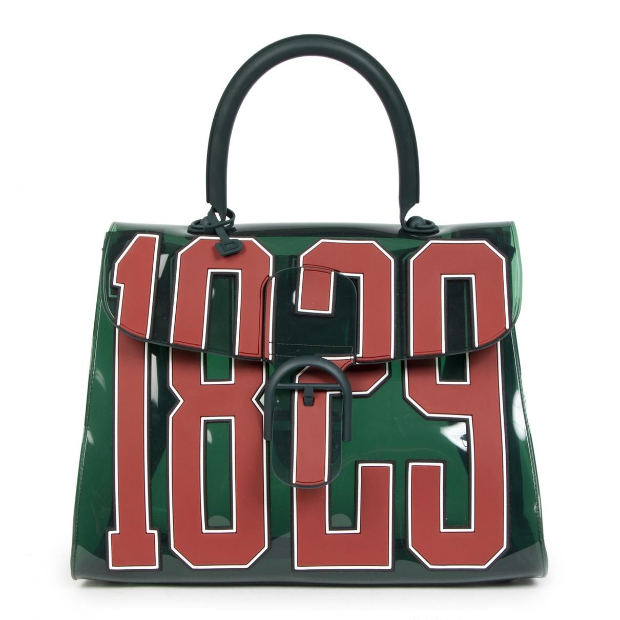 Delvaux Le Brillant Handtasche in  Gruen Kunststoff