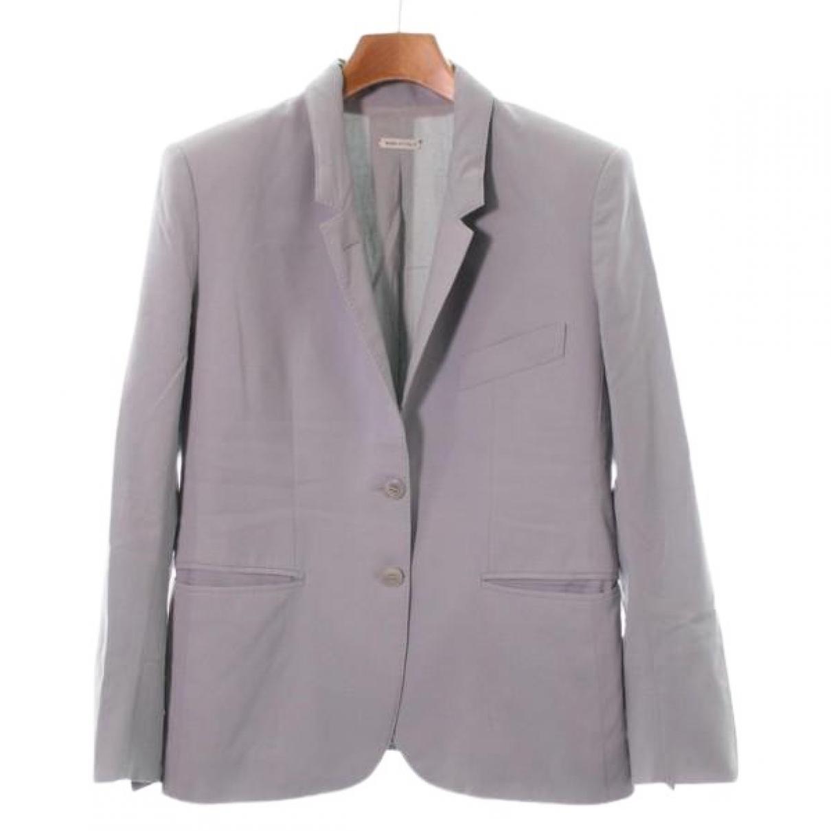 Hermes - Veste   pour femme en laine - gris