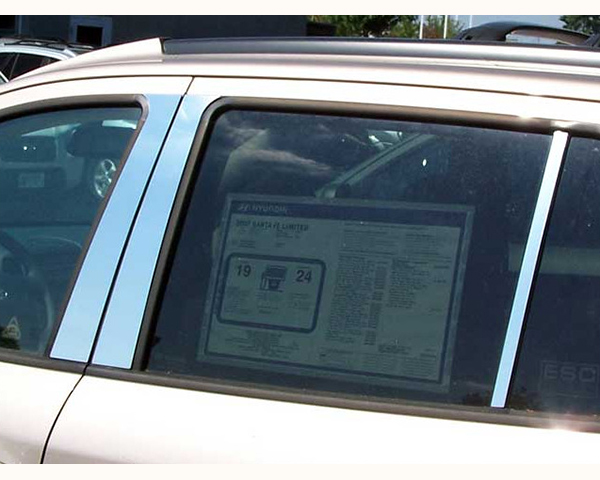 Quality Automotive Accessories 6-Piece Pillar Post Trim Kit Hyundai Santa Fe 2008