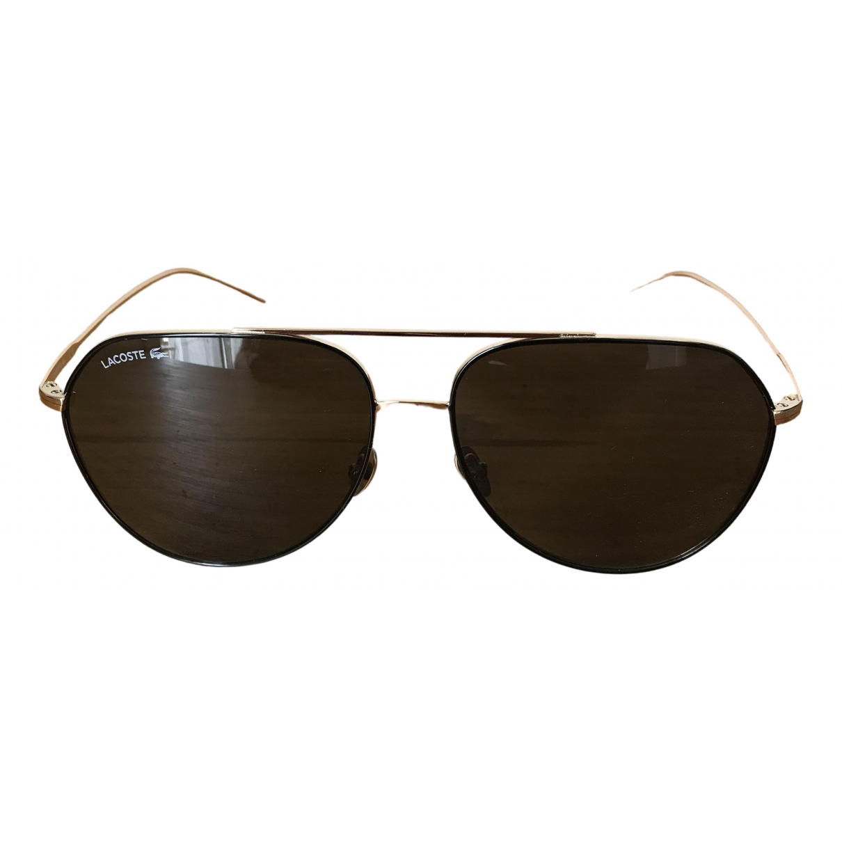 Lacoste \N Gold Metal Sunglasses for Men \N