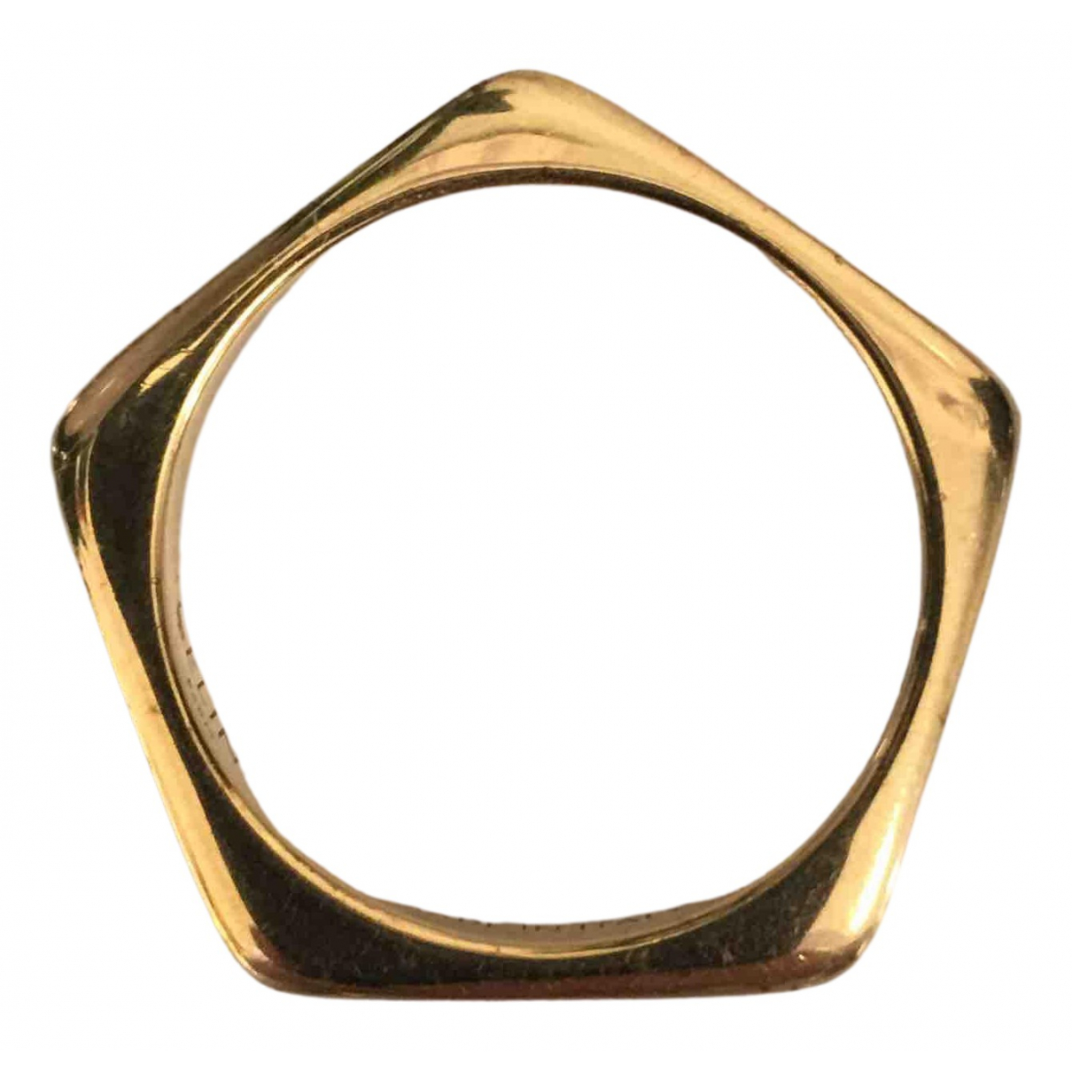 Celine \N Ring in  Gold Metall