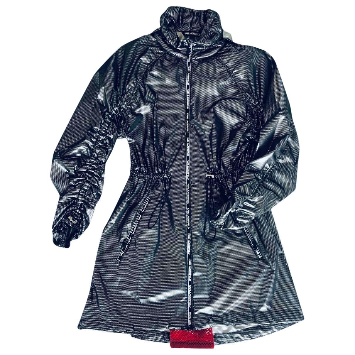 Karl \N Silver coat for Women S International