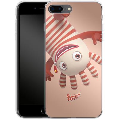 Apple iPhone 7 Plus Silikon Handyhuelle - Sorgenfresser Saggo von Sorgenfresser