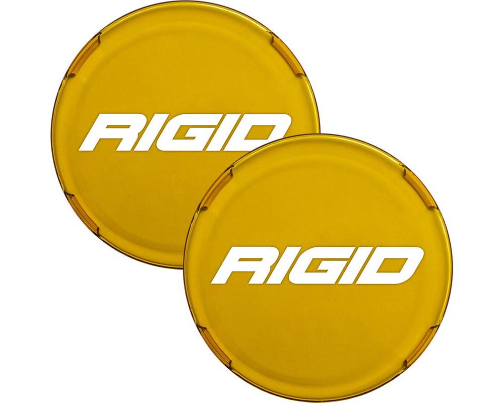 RIGID Industries Cover For Rigid 360-Series 6 Inch Led Lights Amber Pair