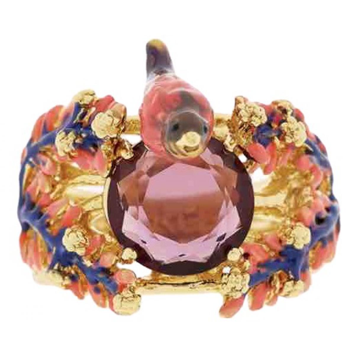 Les Néréides \N Multicolour Metal ring for Women L UK