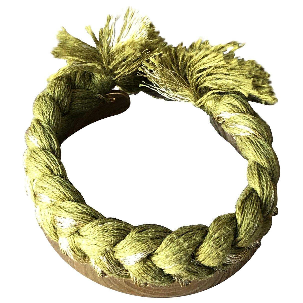 Aurelie Bidermann - Bracelet Copacabana pour femme en metal - vert