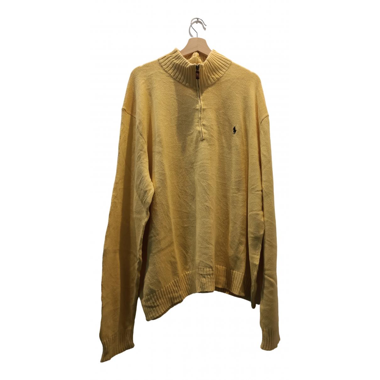 Polo Ralph Lauren N Yellow Cotton Knitwear & Sweatshirts for Men XXL International