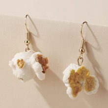 Popcorn Charm Drop Earrings