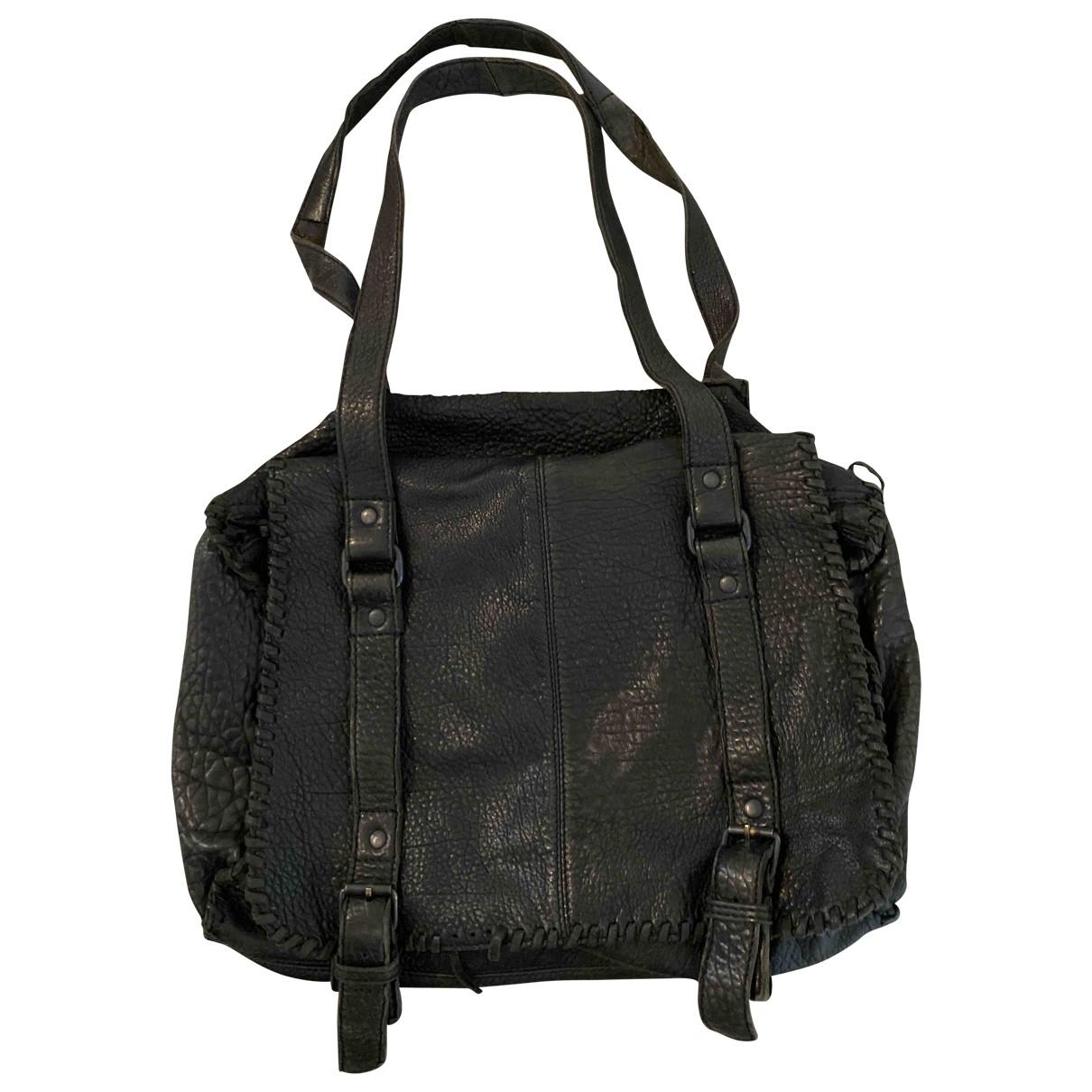 Ba&sh \N Handtasche in  Schwarz Leder