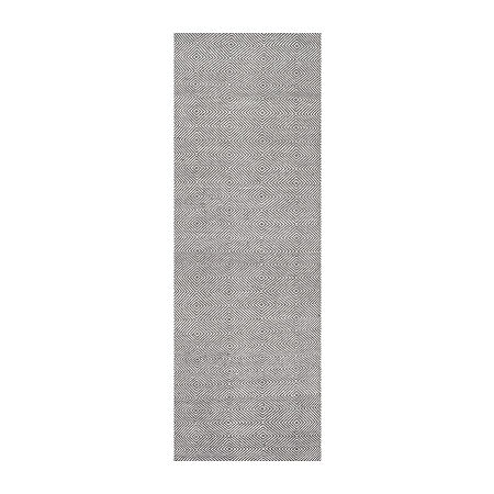 nuLoom Hand Woven Ago Rug, One Size , Gray
