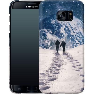 Samsung Galaxy S7 Edge Smartphone Huelle - Pale Blue Dot von Enkel Dika