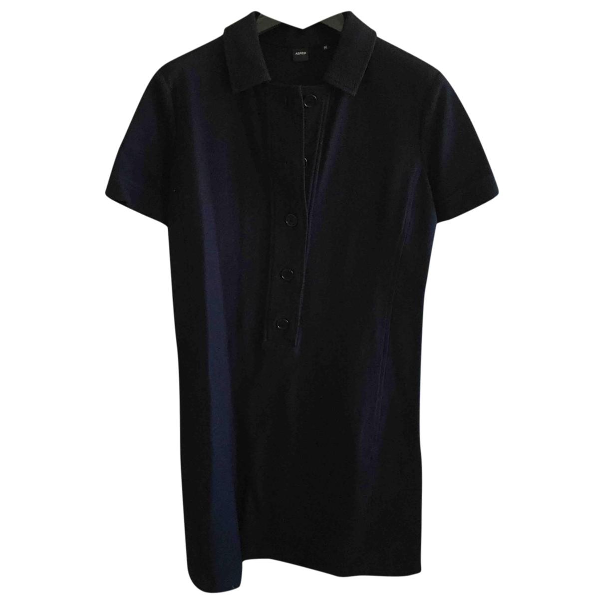Aspesi \N Kleid in  Blau Baumwolle