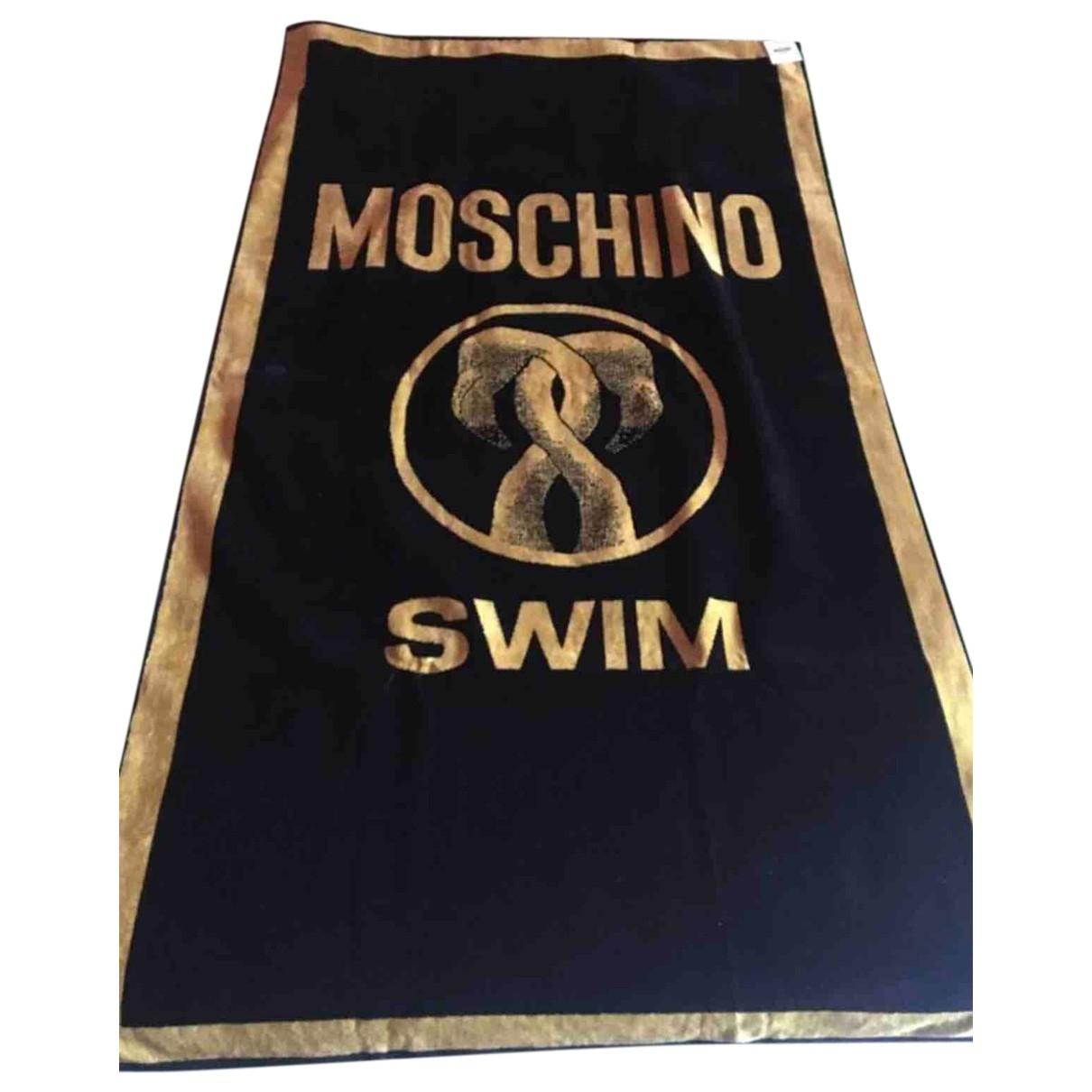 Moschino - Linge de maison   pour lifestyle en coton - noir