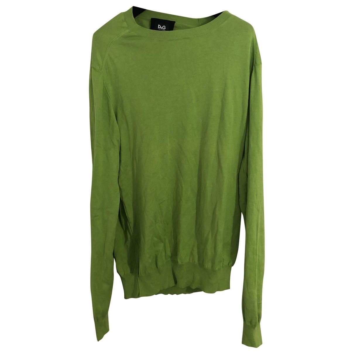 D&g - Pulls.Gilets.Sweats   pour homme en soie - vert