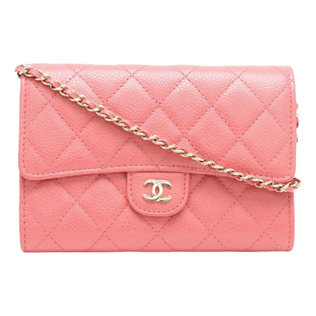 Pochette Wallet on Chain de Cuero Chanel