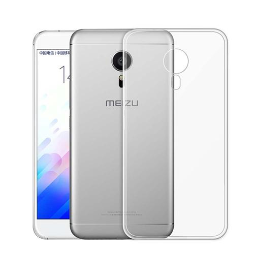Silicon Back Cover High Quality Protective Soft Case Phone Shell For MEIZU M3 Note/MEIZU MEILAN Note 3 - Transparent