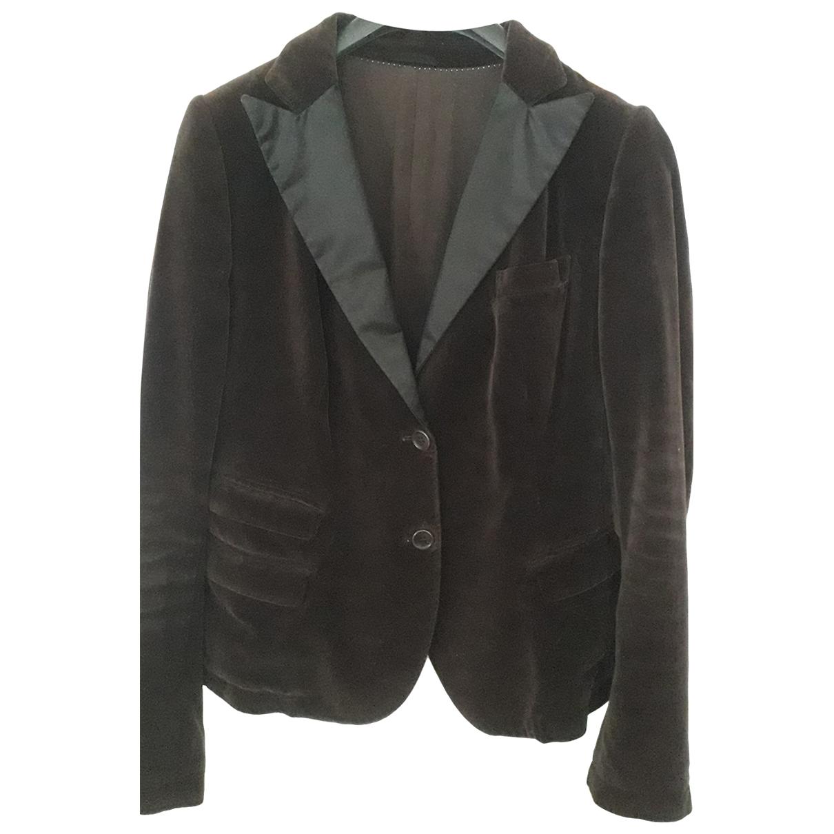 Neil Barrett \N Brown Velvet jacket for Women 42 IT