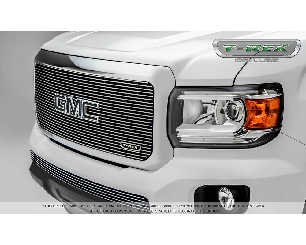 2015-2019 GMC Canyon Billet Grille, Polished, 1 Pc, Insert - PN #20371