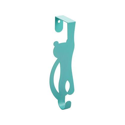 Animal Metal Over The Door Single Storage Hook Hanger - LIVINGbasics™ - Mint