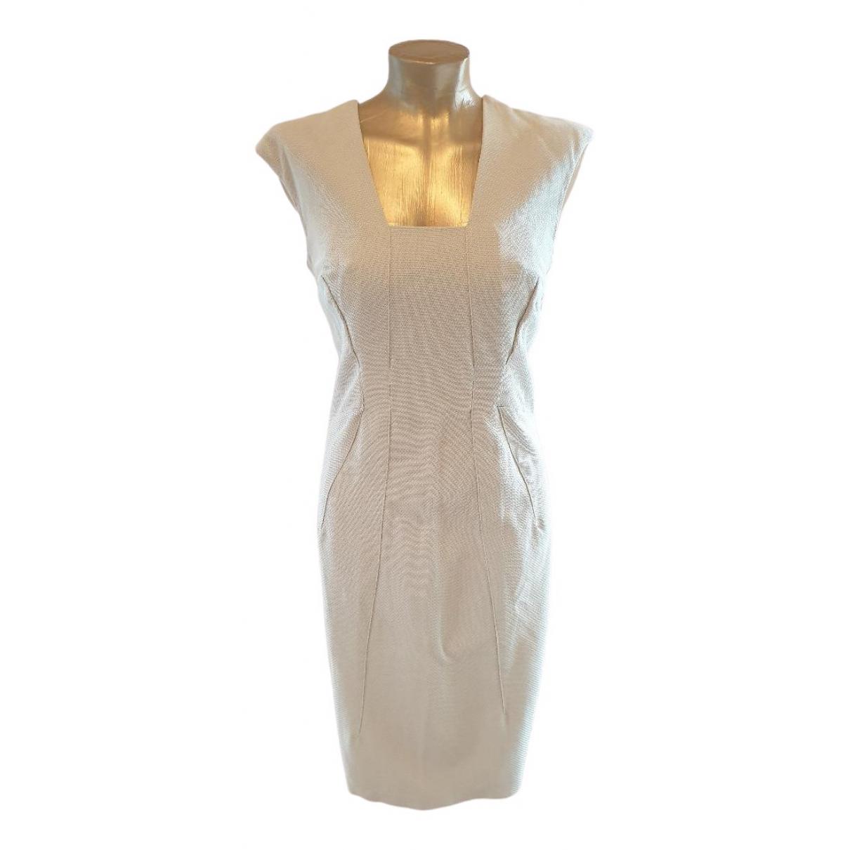 Amanda Wakeley - Robe   pour femme en coton - ecru