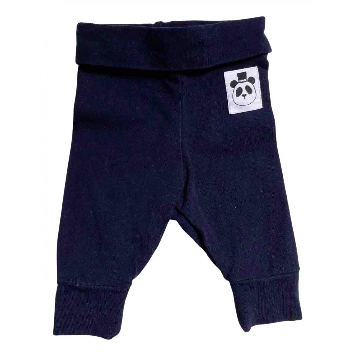 Pantalones en Algodon Azul Mini Rodini
