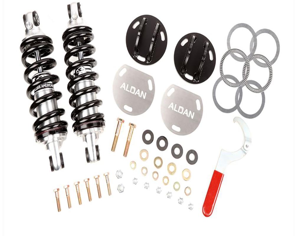 Aldan American 300184 Coil-Over Kit Single Adjustable 650 lb Springs Kit Ford Crown Victoria 03-11