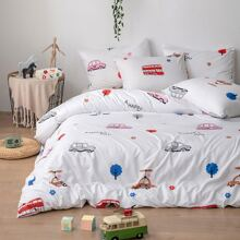 Cartoon Graphic Bedding Sets Without Filler