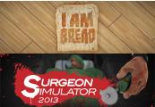 Surgeon Simulator AE + I Am Bread Steam CD Key