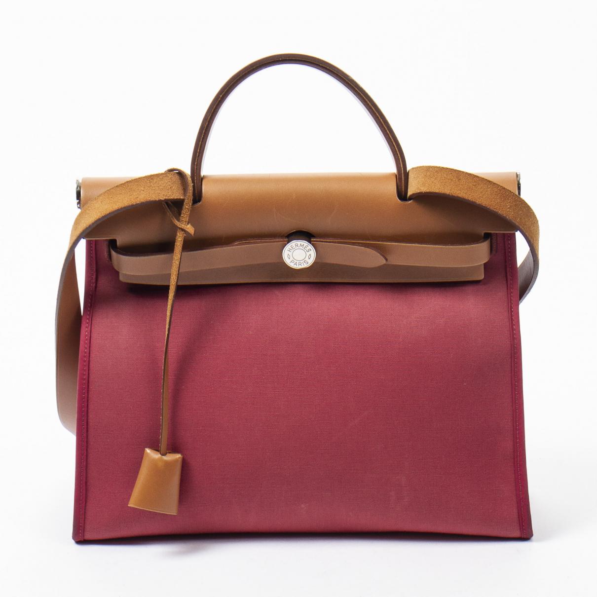 Hermès Herbag Multicolour Leather handbag for Women \N