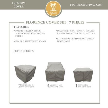 FLORENCE-07cWC-GRY Protective Cover Set  for FLORENCE-07c in