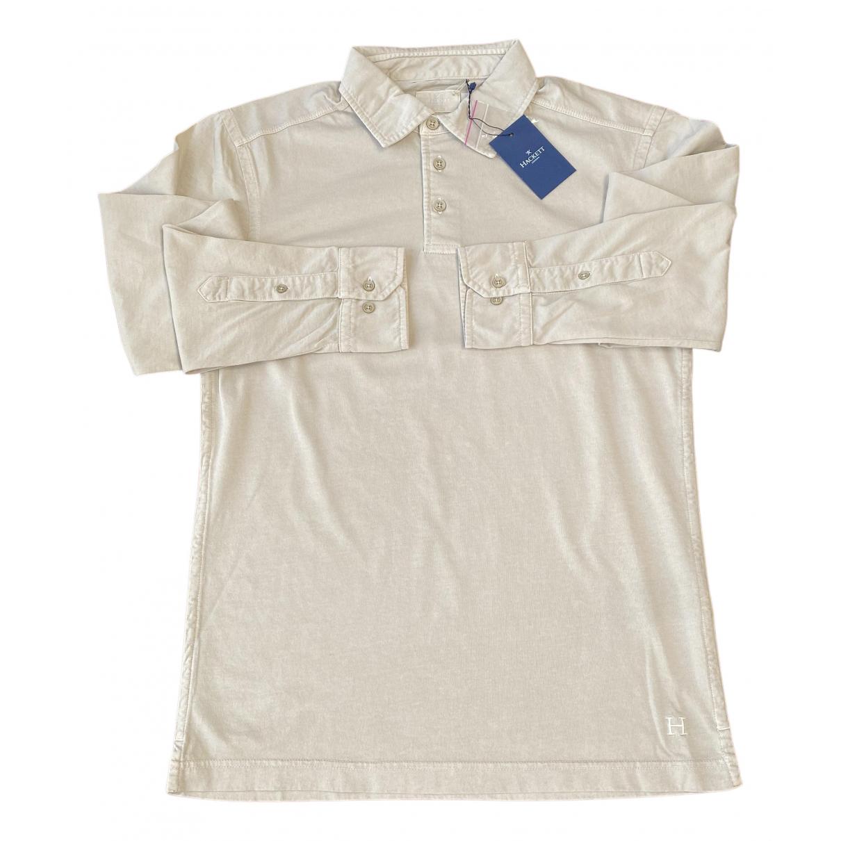 Hackett London \N Poloshirts in  Beige Baumwolle