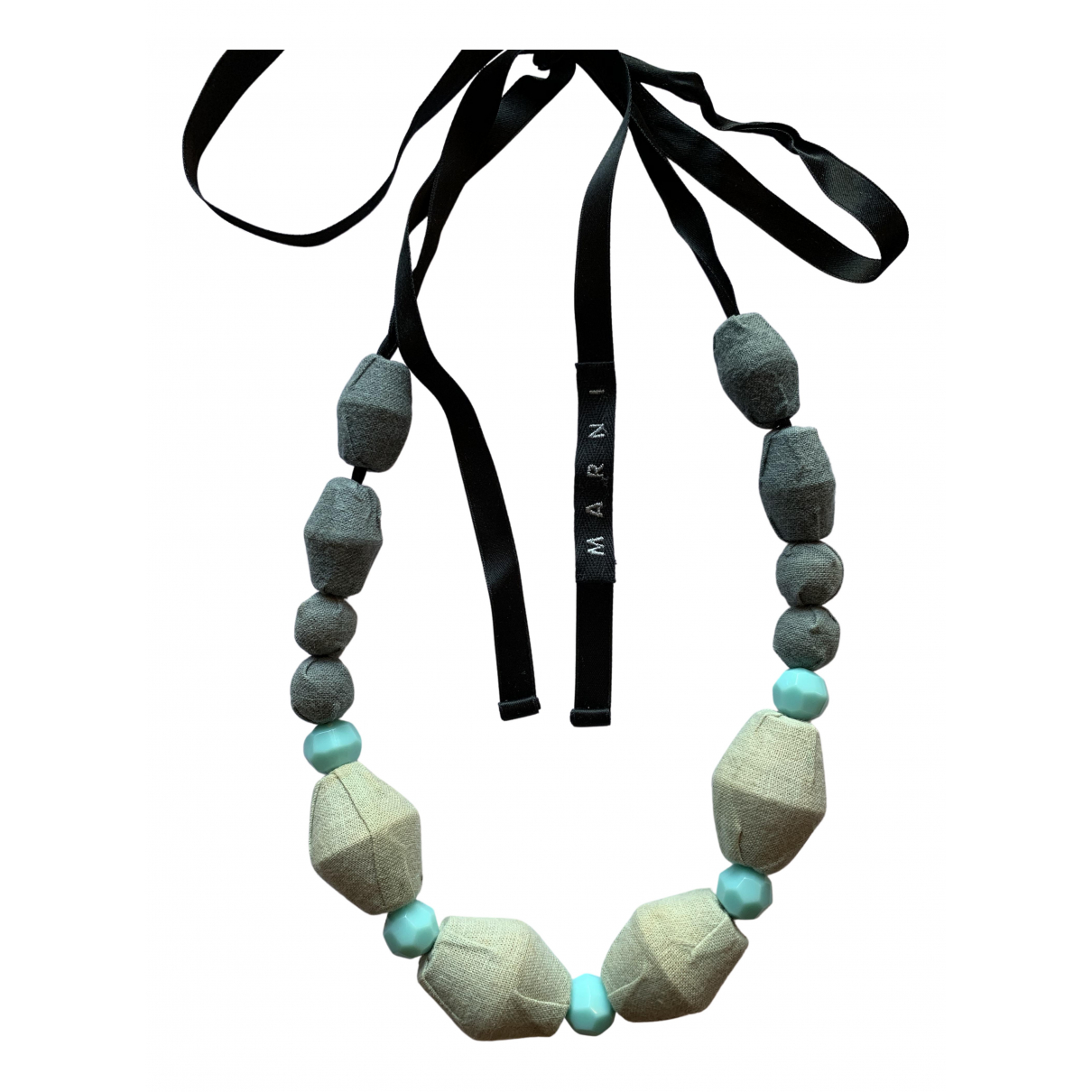 Marni - Collier   pour femme en perles - turquoise