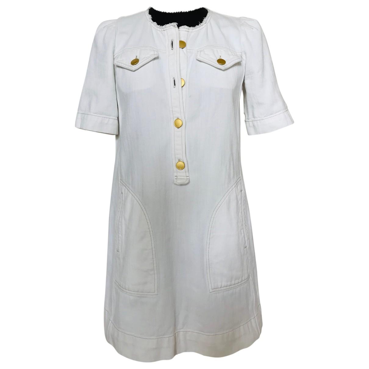 Isabel Marant Etoile \N Kleid in  Ecru Baumwolle