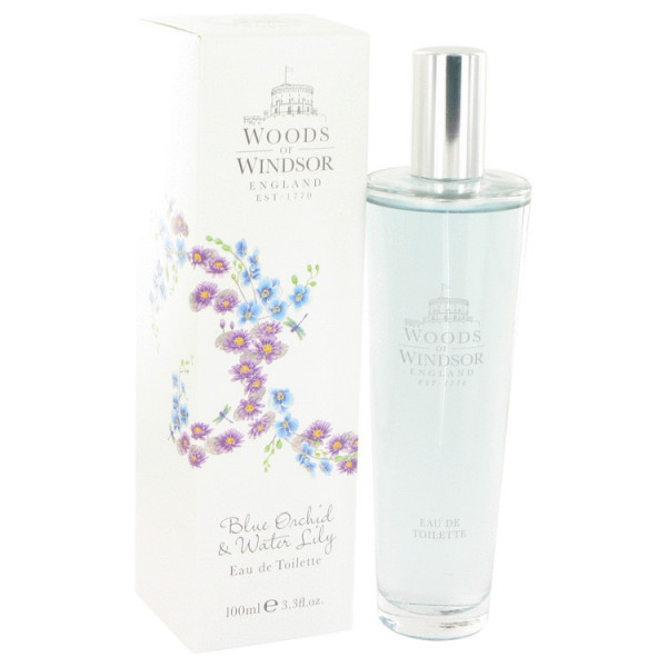 Blue Orchid & Water Lily - Woods Of Windsor Eau de toilette en espray 100 ML