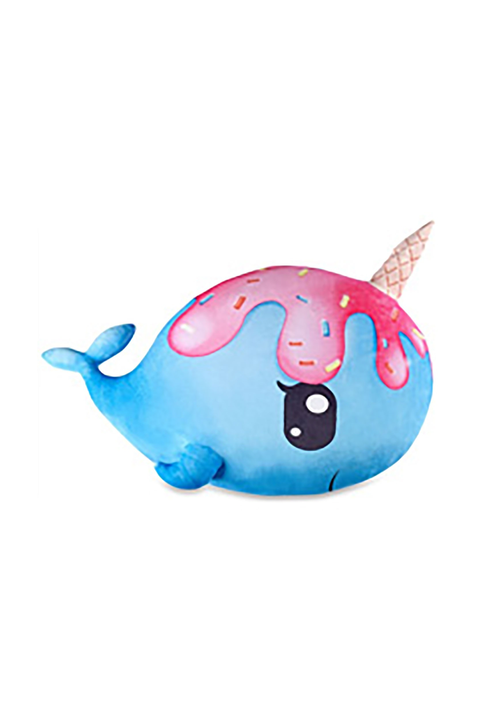 Squishy Squad Narwhal Pillow
